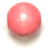 Wooden Bead Round 12mm Pink
